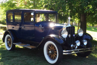1929 Durant Midnight Blue