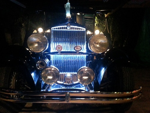 1929 Durant Model 63 Lighted