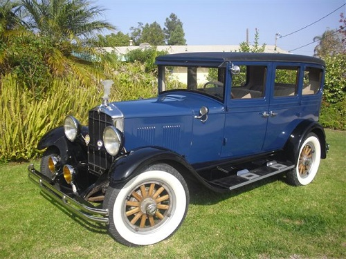 1929 Midnight Blue Durant 4 Door